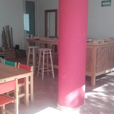 salle de bricolage et art
