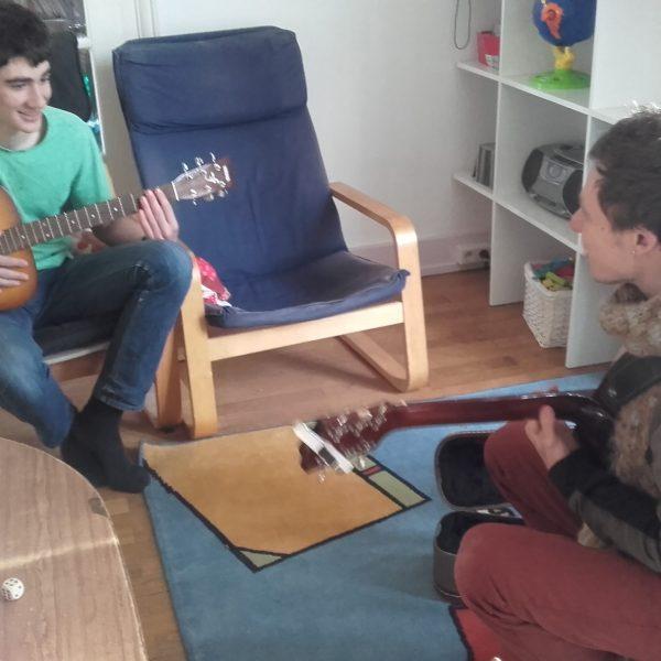 Séance musicale à deux