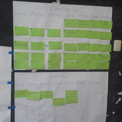Planning de la semaine et du mois